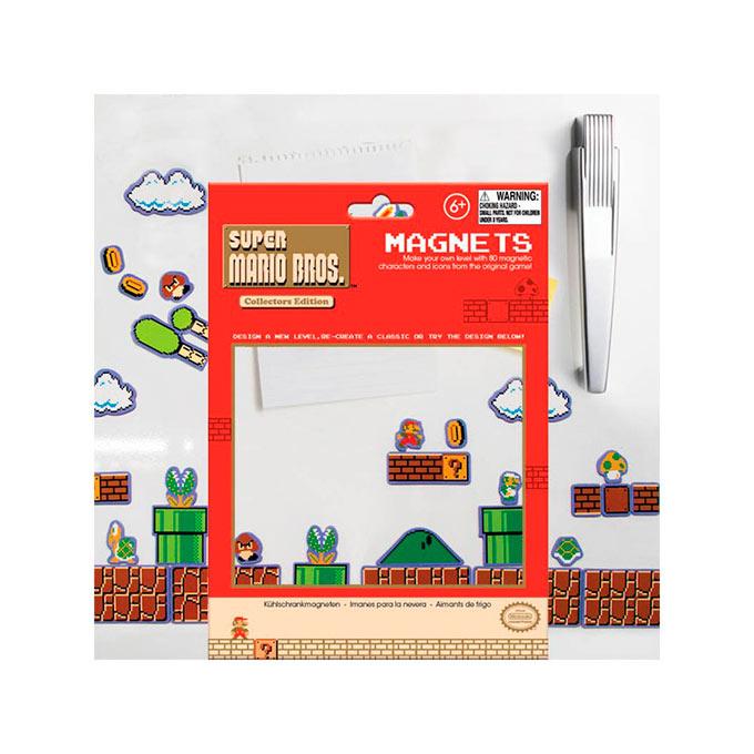 Set 80 Imanes Mario Bros