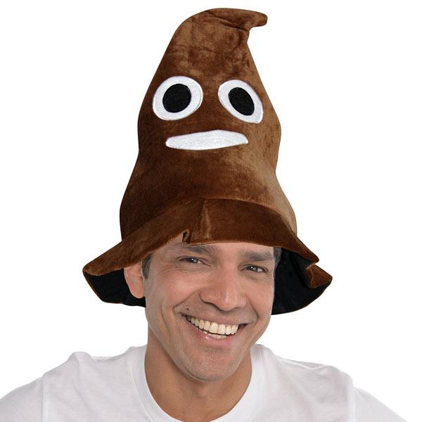 Sombrero Emoticono Caca