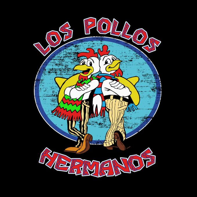 Sudadera Breaking Bad. Los Pollos Hermanos