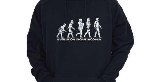 Sudadera Star Wars. Evolution Stormtrooper