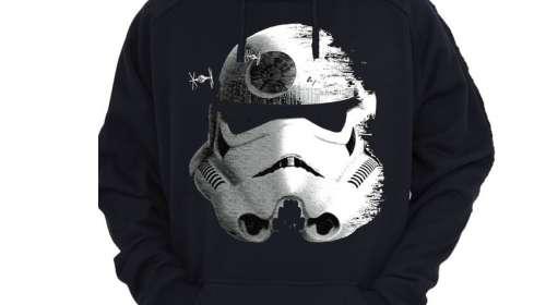 Sudadera Stormtrooper Deathstar. Star Wars