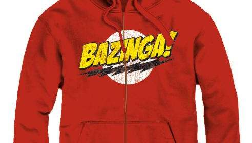 Sudadera con capucha Bazinga. The Big Bang Theory