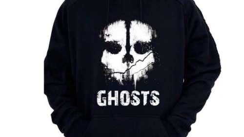 Sudadera con capucha Call of Duty: Ghost. Calavera