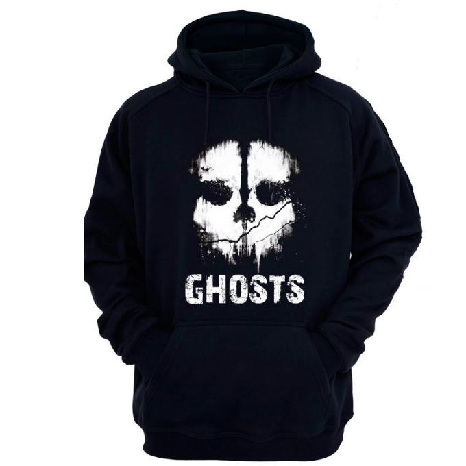 Sudadera con capucha Call of Duty: Ghost. Calavera