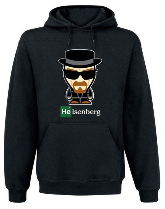 Sudadera con capucha Heisenberg cómic. Breaking Bad
