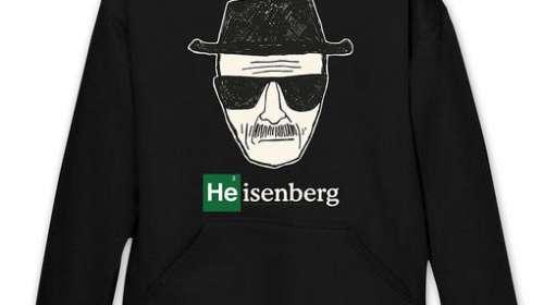 Sudadera con capucha Heisenberg. Breaking Bad