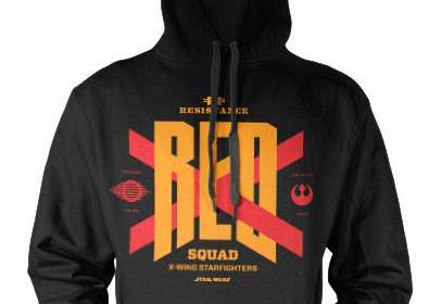 Sudadera con capucha Red Squad. Star Wars Episodio VII