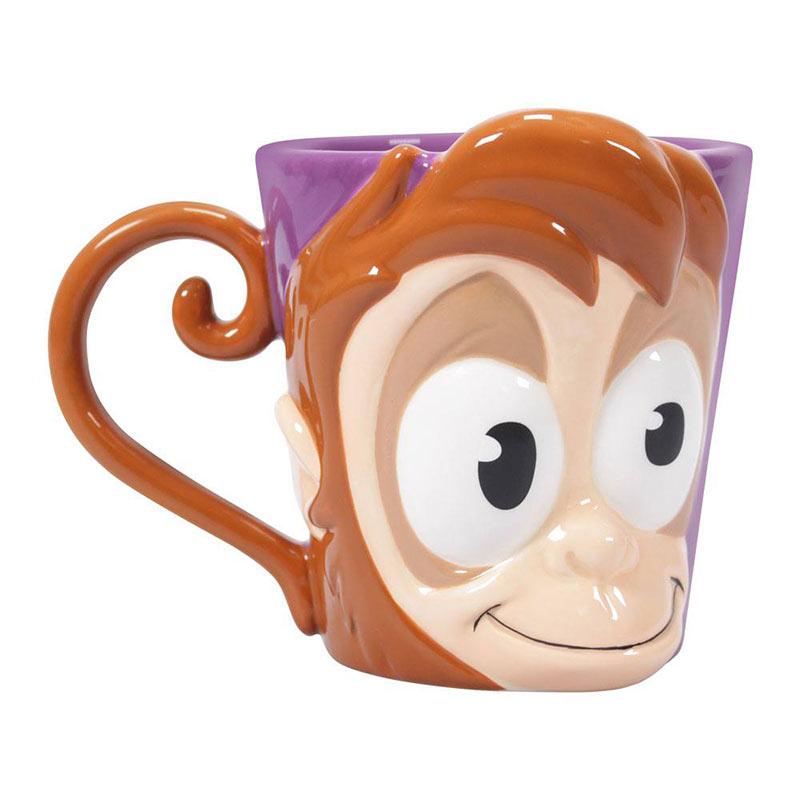 Taza 3D mono Abú. Aladdín. Disney