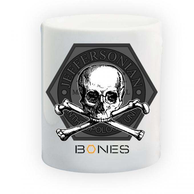 Taza Bones. Huesos