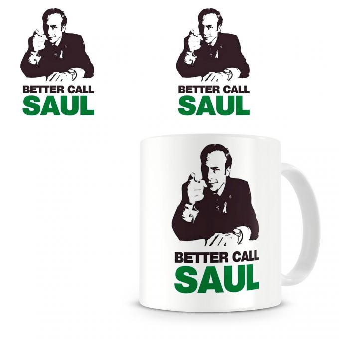 Taza Breaking Bad. Better Call Saul