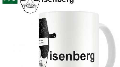 Taza Breaking Bad. Heisenberg
