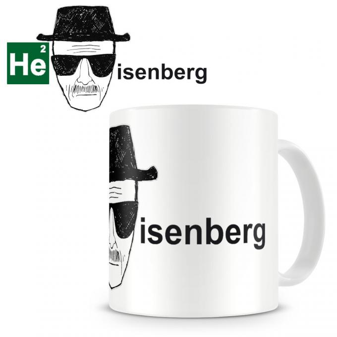 Taza Breaking Bad. Heisenberg