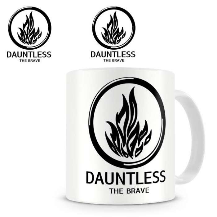 Taza Divergente. Dauntless The Brave (Osadía)