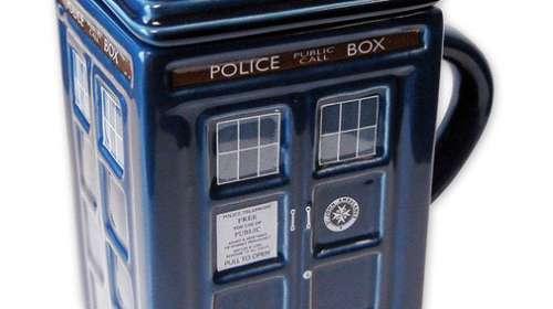 Taza Doctor Who. Cabina Tardis