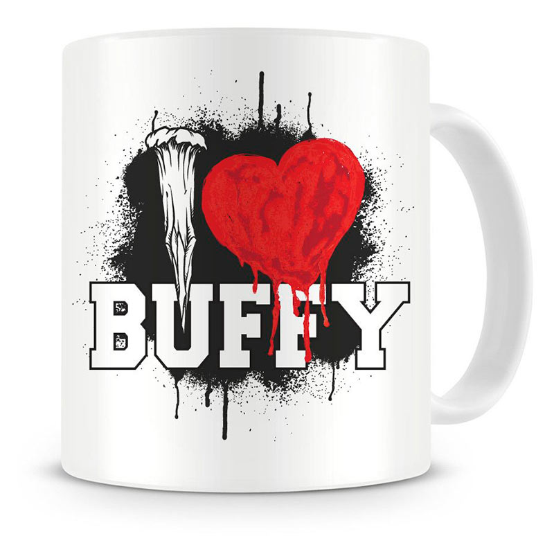 Taza I Love School. Buffy