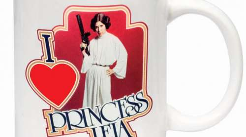 Taza I love Princess Leia. Star Wars