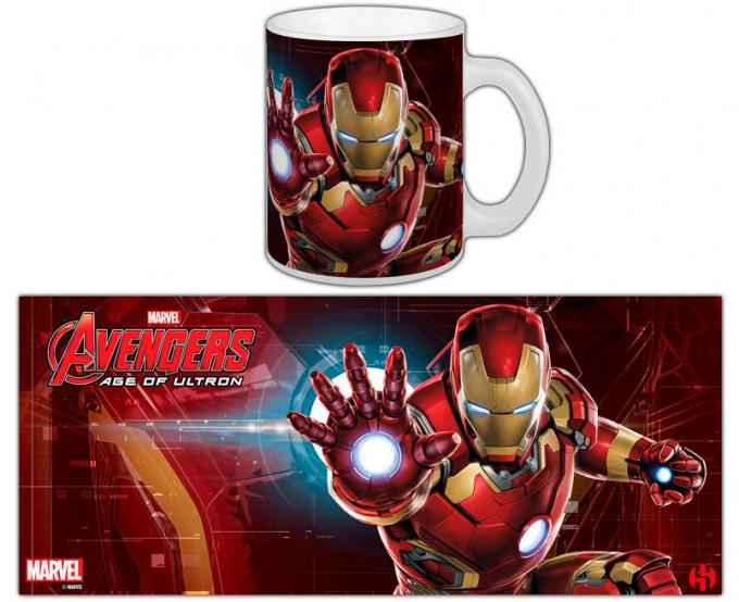 Taza Iron Man. Los Vengadores: la era de Ultrón