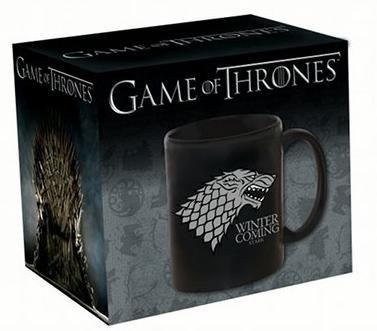Taza Juego de Tronos. Casa Stark