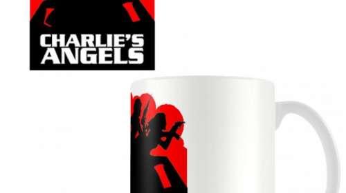 Taza Los Angeles de Charlie. Logo