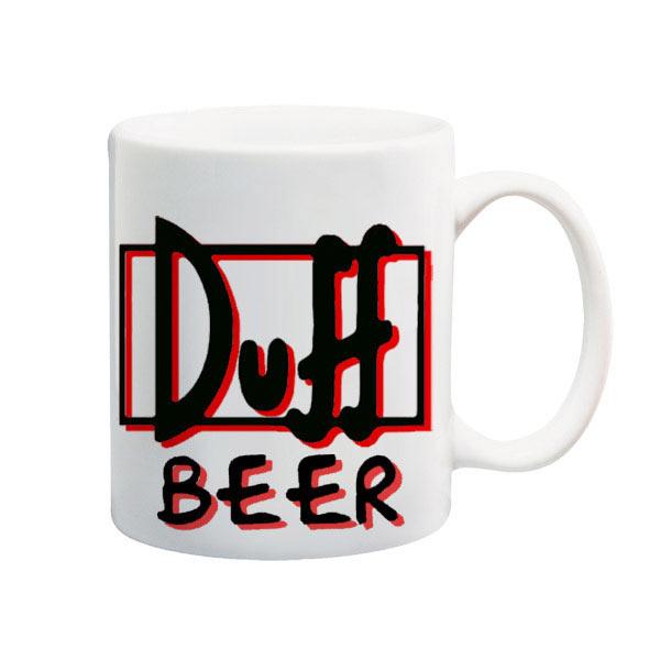 Taza Los Simpson. Duff Beer