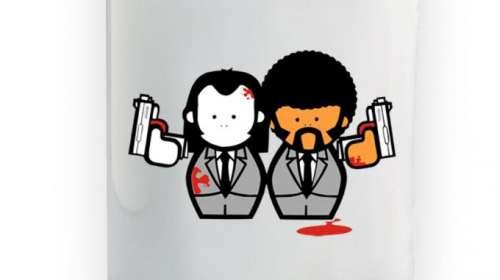 Taza Pulp Fiction. Jules y Vincent