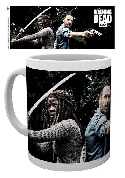 Taza Rick & Michonne. The Walking Dead