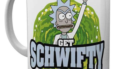 Taza Rick and Morty. Schwifty