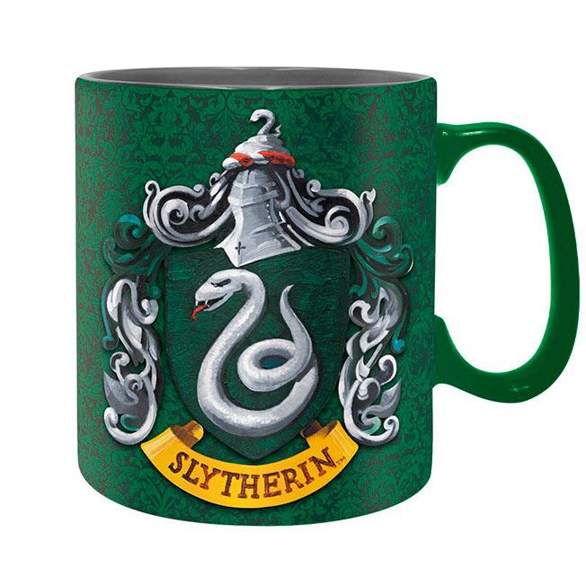 Taza Slytherin Harry Potter. Emblema y definición
