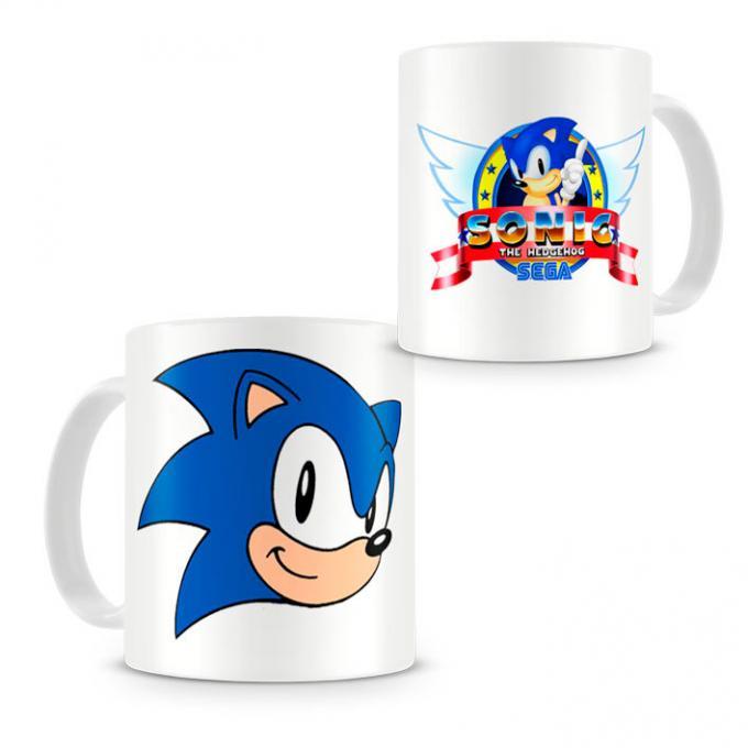Taza Sonic the Hedgehog. Sega