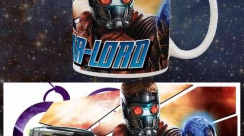 Taza Star-Lord. Guardianes de la Galaxia