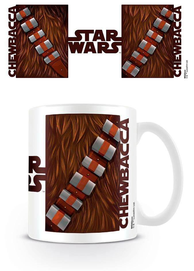 Taza Star Wars Chewbacca Torso