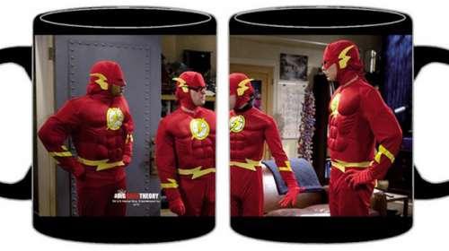 Taza The Big Bang Theory. Sheldon Flash