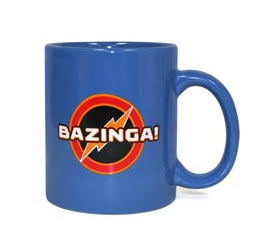 Taza The Big bang Theory. Bazinga