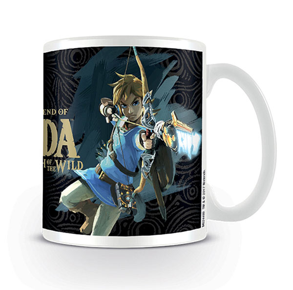 Taza The Legend of Zelda: Breath of the Wild. Portada