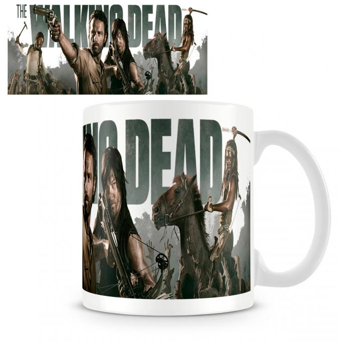 Taza The Walking Dead. Personajes