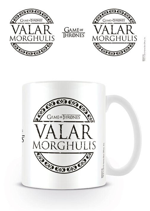 Taza Valar Morghulis. Juego de Tronos. Pyramid International