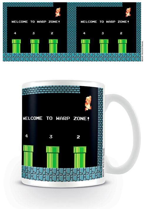 Taza Warp Zone. Super Mario Bros