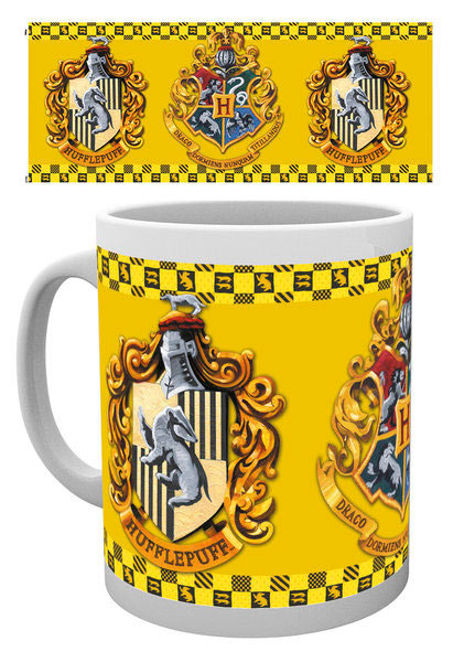 Taza casa Hufflepuff Harry Potter