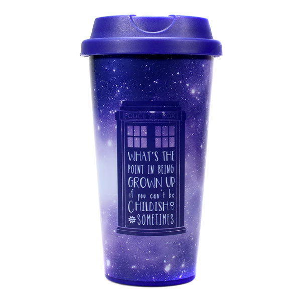 Taza de viaje Doctor Who