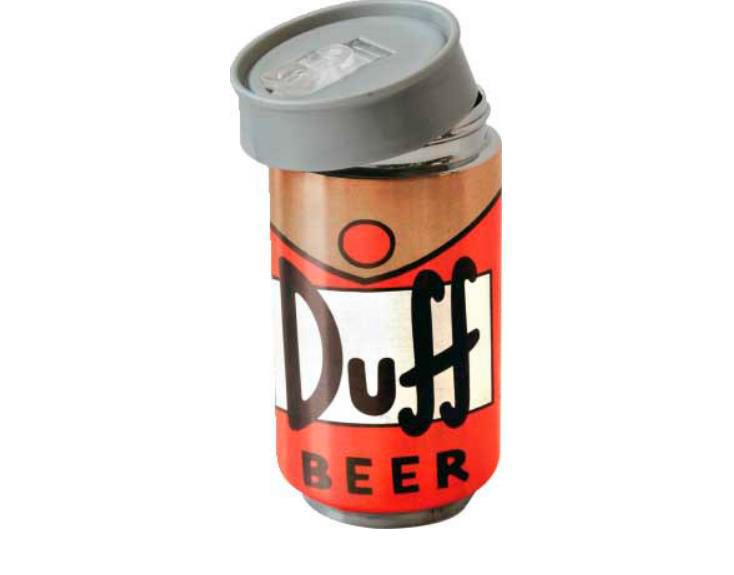 Taza de viaje Los Simpson. Duff Beer