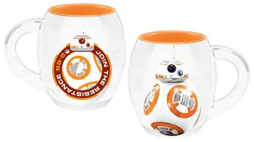 Taza droide BB-8. Star Wars Episodio VII. Edición Deluxe. Gran Capacidad. Joy Toy