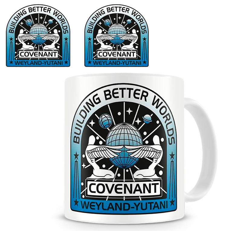 Taza logo Covenant. Alien