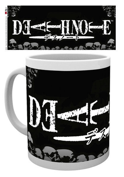 Taza logo Death Note. Gaya Entertainment