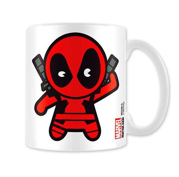 Taza muñeco Deadpool. Marvel