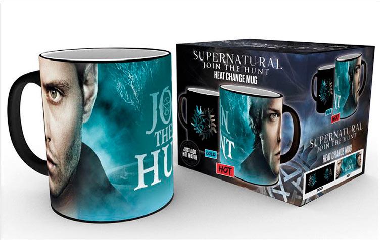 Taza térmica Sam & Dean Symbol. Supernatural
