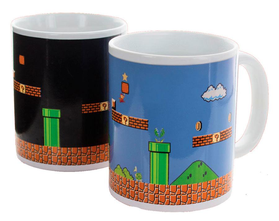 Taza térmica. Súper Mario Bros