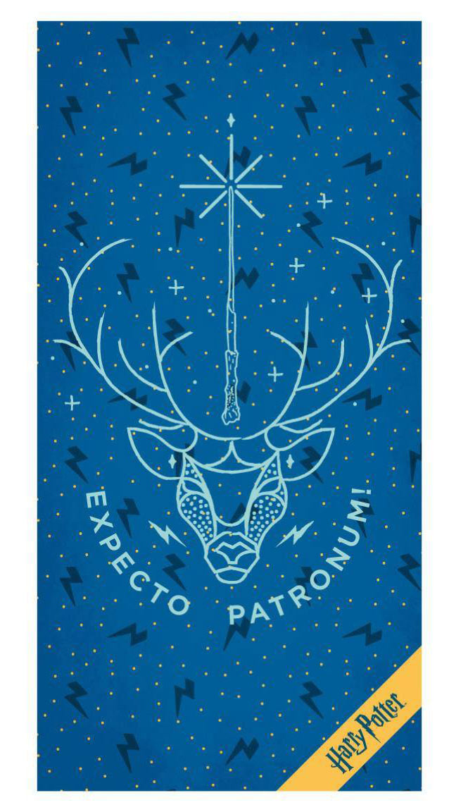 Toalla Harry Potter Expecto Patronum 70 x 140 cm