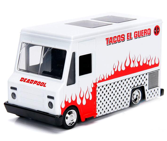 Vehículo Deadpool Taco Truck. Escala 1:32. Jada Toys