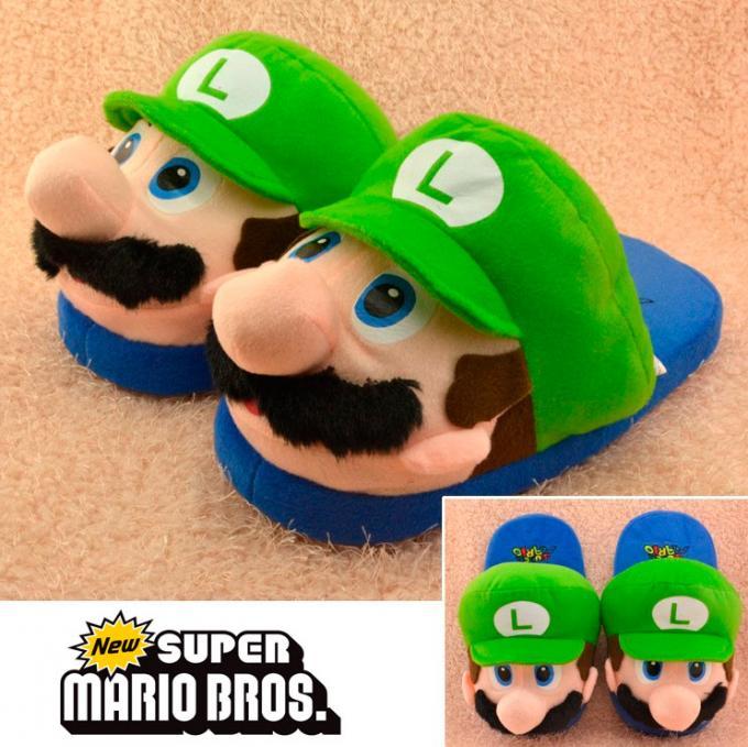 Zapatillas Luigi. Súper Mario Bros