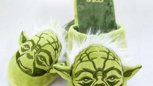 Zapatillas Maestro Yoda. Star Wars